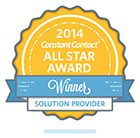 2014 Constant Contact All Star Award