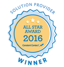 2016 Constant Contact All Star Award